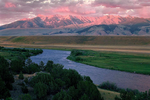 Madison River Montana landscape photography by scott Wheeler