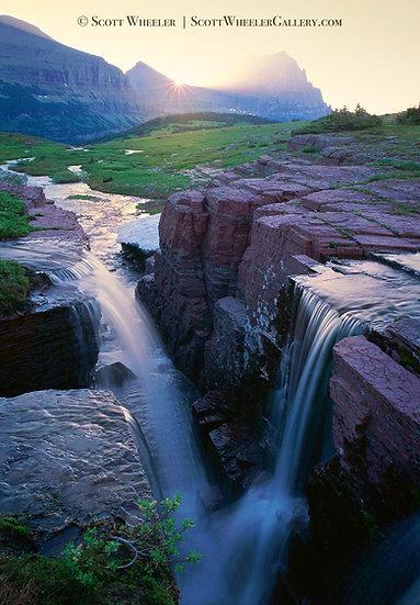 Scott Wheeler Montana Waterfall Photography
