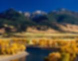 Yellowstone River Montana Paradise Valley Landscapeby Scott Wheeler Photography