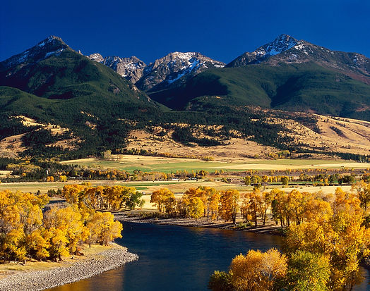 Yellowstone River Montana Paradise Valley Landscapeby Scott Wheeler Photography