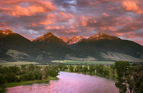 Paradise Valley Montana photographyby Scott Wheeler Photography