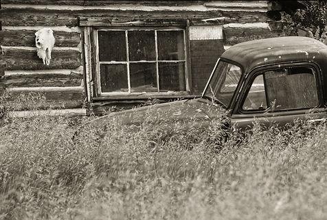 rustic cabin montana by Scott Wheeler Photography