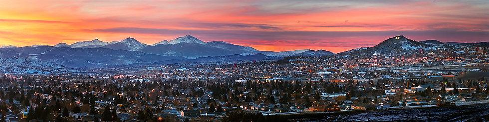 Butte, Montana Panorama
