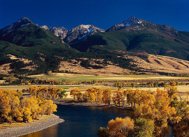 Scott Wheeler Photography Paradise Valley Montana Fall