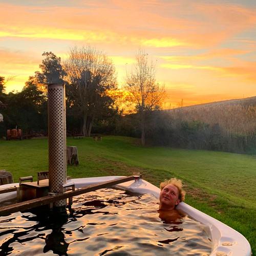 Jamie in hot tub .JPG
