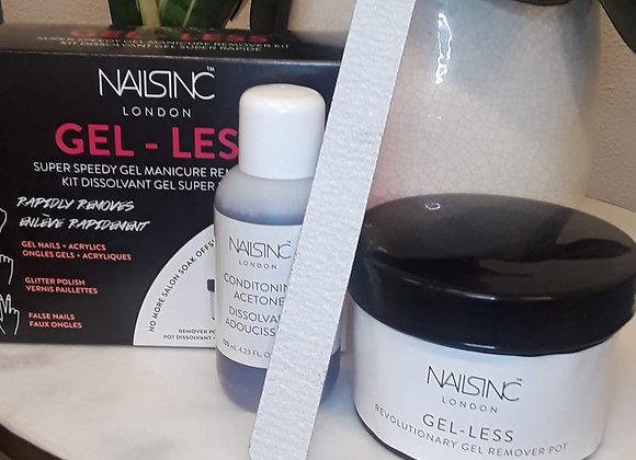 Nails Inc Gel-less + Tools