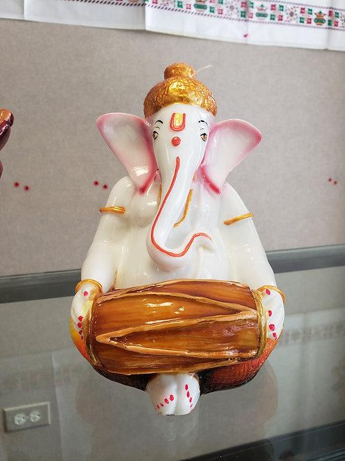 Dholak Playing Ganesha