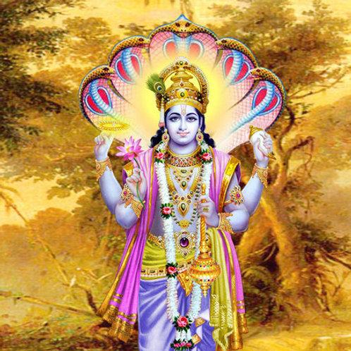 Vishnu Shahstra Path and Abhishek
