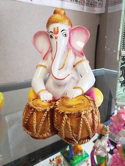 Tabla Playing Ganesha