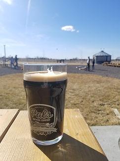 pals brewing compant stout beer cornhole outdoor oasis north platte nebraska ne