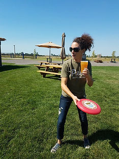 frisbee outdoor sports pals brewing company craft beer craft brewery north platte nebraska ne