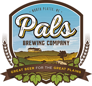 Pals Brewing Company Logo Header North Platte Nebraska NE
