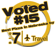pals brewing company pizza mendy signature sauce big 7 travel voted #15 best pizza in nebraska north platte ne craft beer brewery