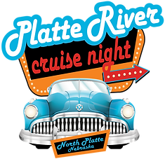 Platte River Cruise Night North Platte Nebraska NE Footer Image Logo