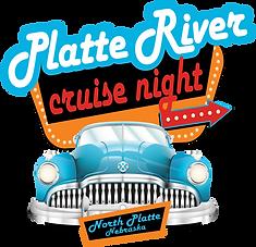Platte River Cruise Night North Platte Nebraska NE Footer Image Logo