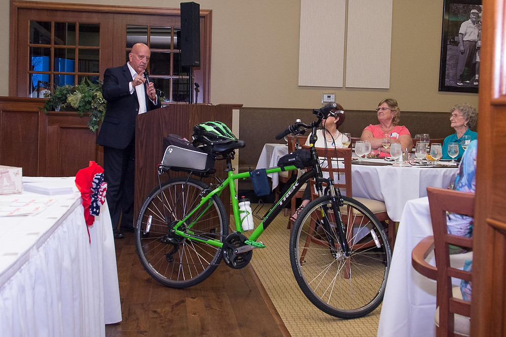 Dale Kling Ward 3 Speech highlights.  Green Bike.
