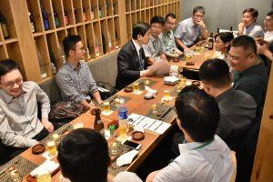 Welcome Dinner for the 7th International IVO training program