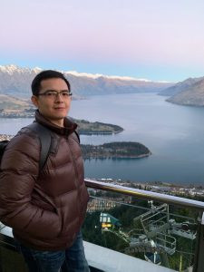 A word from Dr. Hsin-Yi (Robert) Chen who joined our department in August