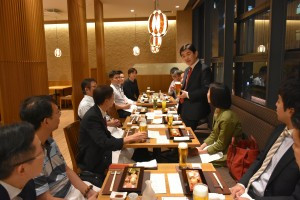 Welcome party for the 3rd International RFA training program
