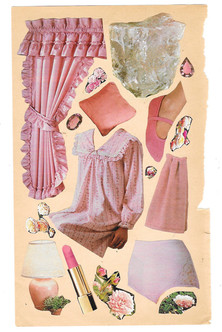 pink things on a page