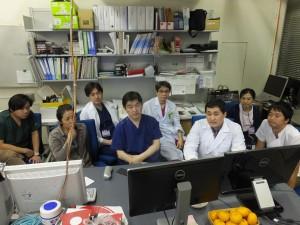 Dr. Niyaz Malayev 送別会(Farewell party)