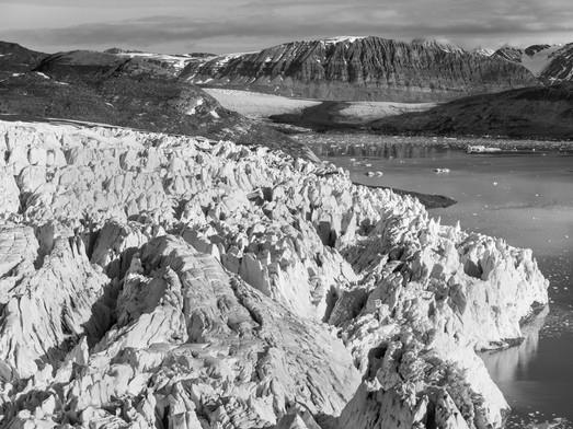Paysage glacier
