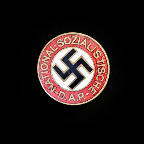 Named NSDAP badge