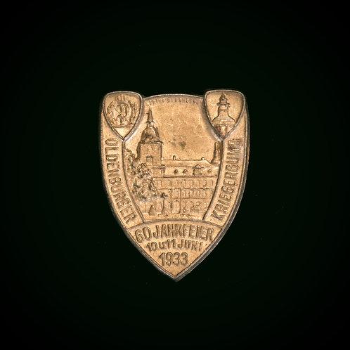 Kriegerbund day badge