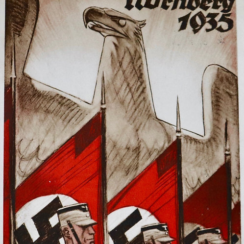 Nürenberg 1935 postcard