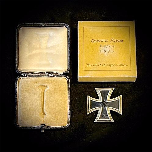 Cased Iron Cross 1st class
