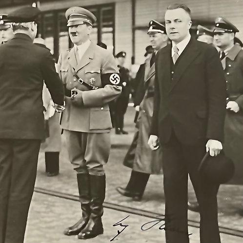 Hitler signed photo
