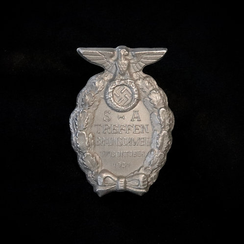 SA Braunschweig Gau badge