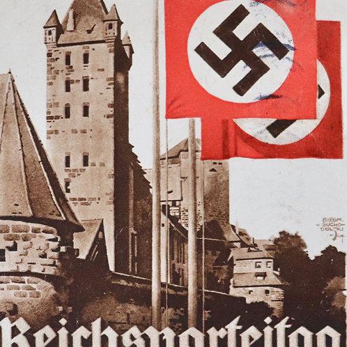 Nürnberg 1933 postcard