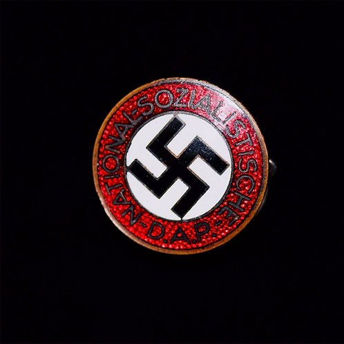 Curved NSDAP Party badge
