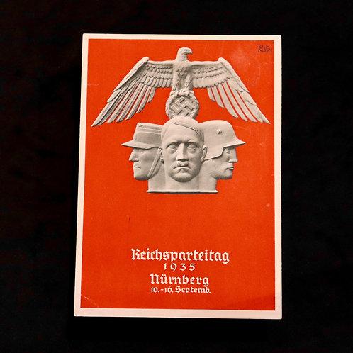 Nuremberg 1935 card