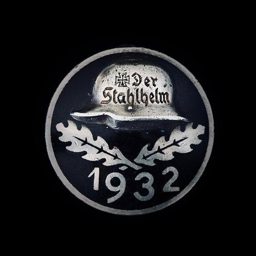 Stahlhelm 1932 solid silver