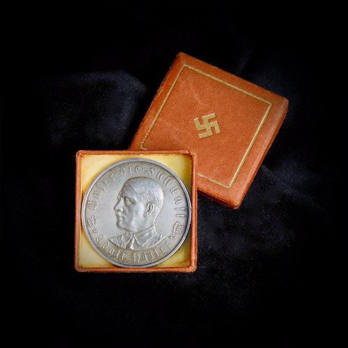 1933 Hitler coin in silver