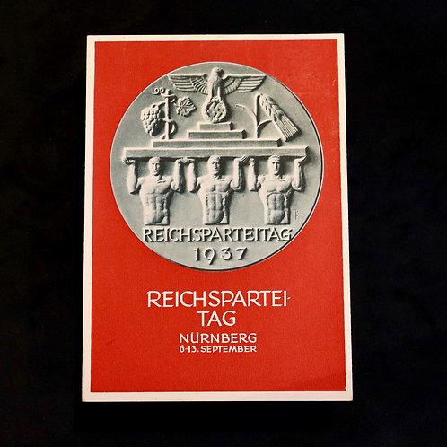 Nuremberg 1937 card