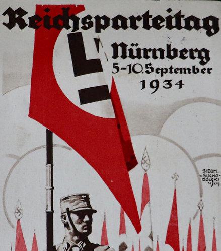 Nürnberg 1934 postcard