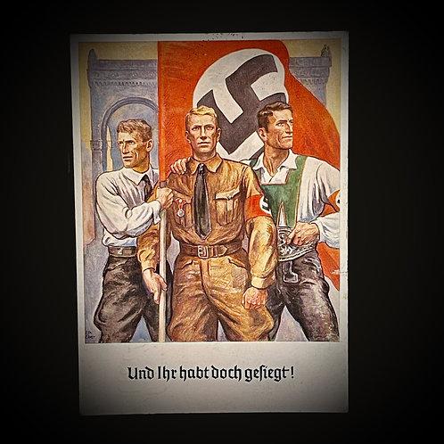 NSDAP postcard