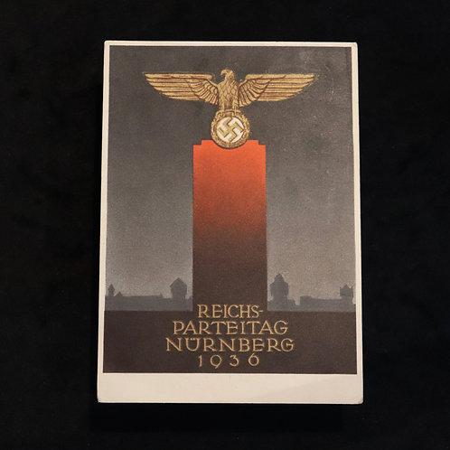 Nuremberg 1936 card