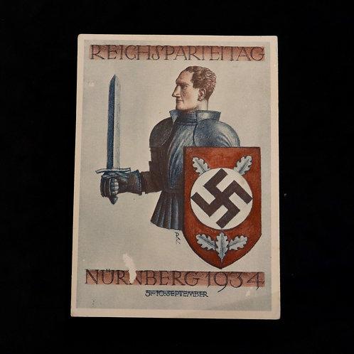 Nuremberg 1934 card