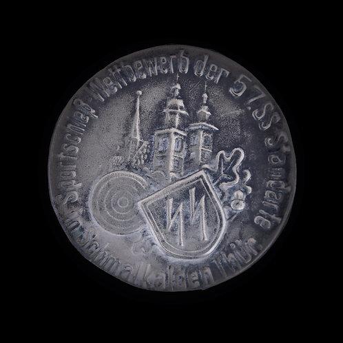 Rare SS 57 Standarte badge