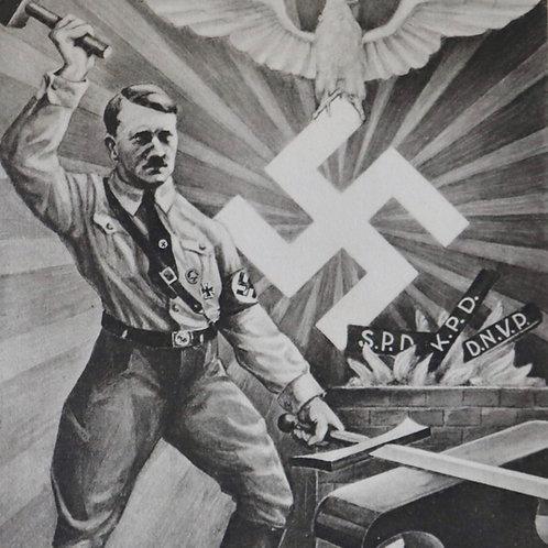 Rare Hitler postcard