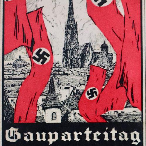 Gauparteitag 1932 postcard