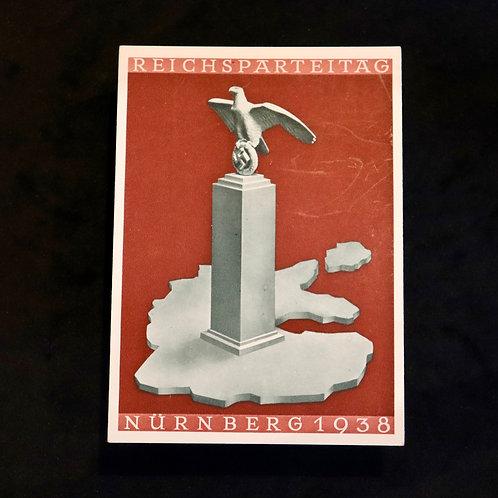 Nuremberg 1938 card