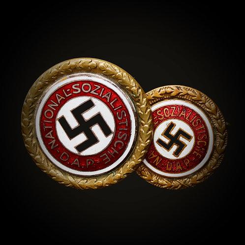 Golden NSDAP badges