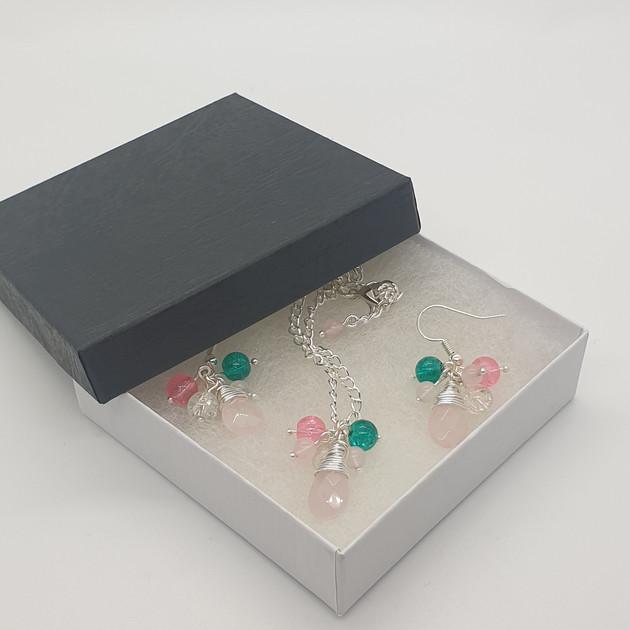 Teardrop and Beads Set
