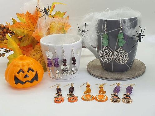 Halloween Nugget Earrings