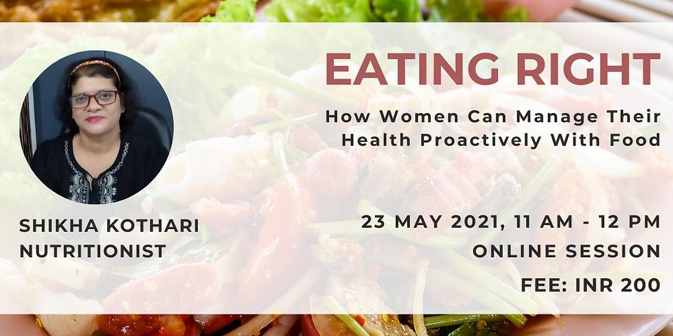 Eating Right - For Women